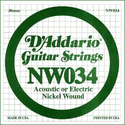 D'Addario NW034 Nickel Wound