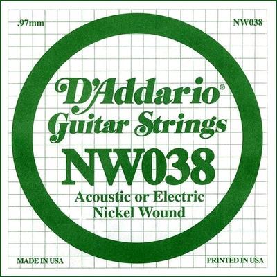 D'Addario NW038 Nickel Wound