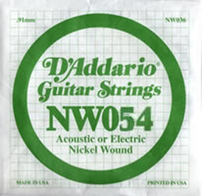 D'Addario NW054 Nickel Wound