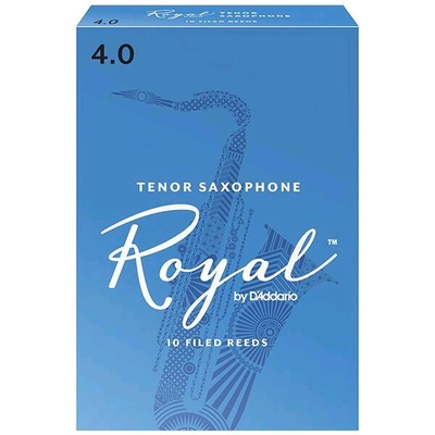 Rico Royal Sax ténor sib 4.0 Box 10 pc