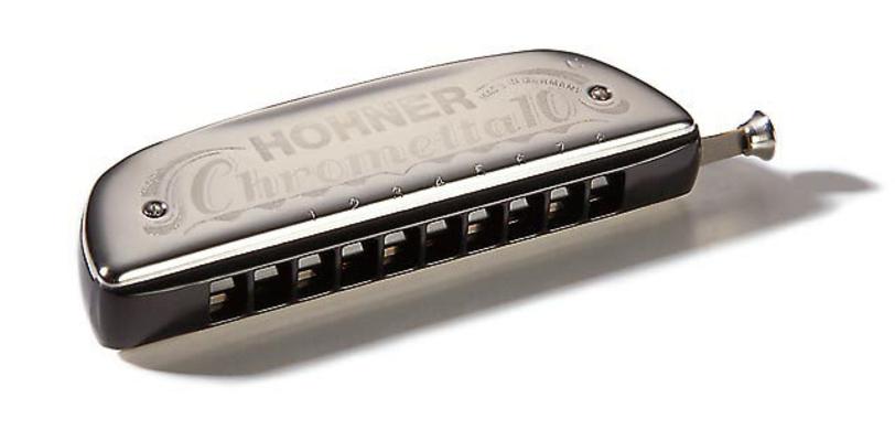 Hohner Chrometta 10 en C