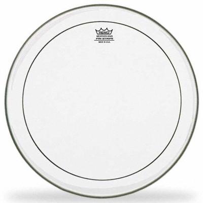 Remo PS-0312-00 Pinstripe Transparente 12» Double plis