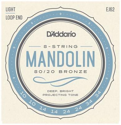 D'Addario EJ62 8 Strings 80/20 Bronze Wound