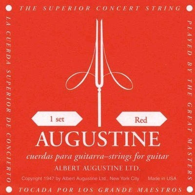 Augustine REDSSET Classic Red Rouge Tension Medium