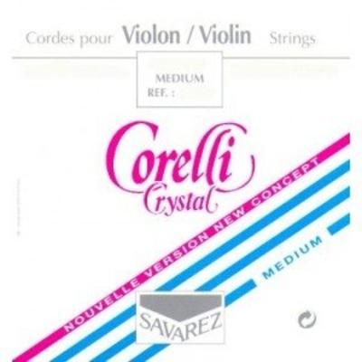Corelli Crystal Jeu 4/4 Mi à boule stabylon (bleu) Medium