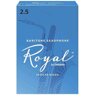 Rico Royal Sax baryton mib 2.5 Box 10 pc