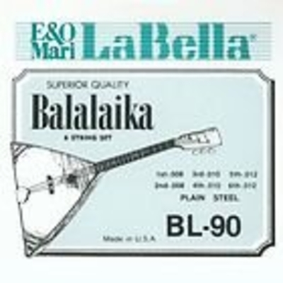 La Bella BL-90 Balalaka Jeu de cordes