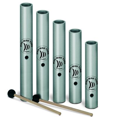 Schlagwerk Percussion WT5 Wah-Wah Tubes set 5 pces