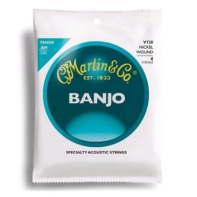 Martin & Co Vega banjo tenor avec boucles (4 cordes)