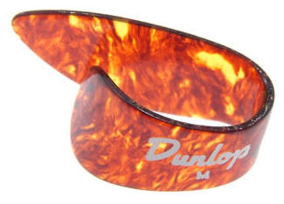 Dunlop 9022R Sachet de 12 pièces Shell Thumbpicks Medium
