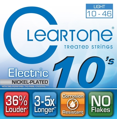 Cleartone 9410 Light 10-46 Electric Nickel Plated