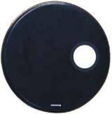 Aquarian RSM20BReg. Sm. Hole Peaux résonnance 20» black