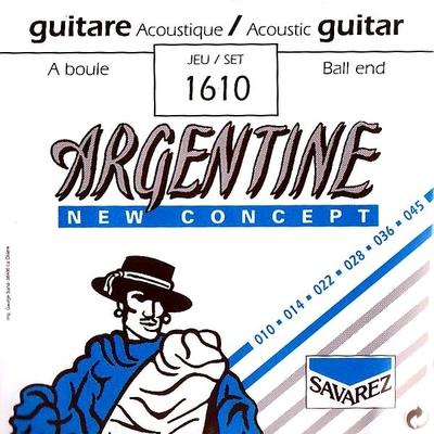 Argentine 1610 Acoustic Jazz à boule Extra Light 010-045