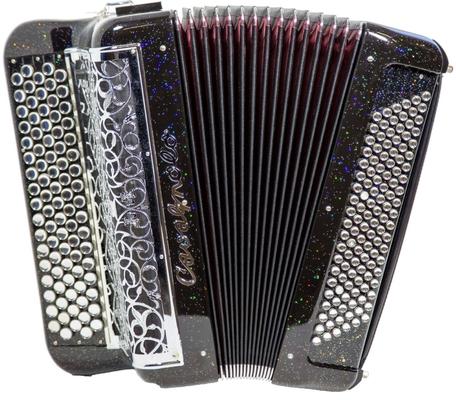 Cavagnolo Digit Orchestra Optima LB12 Avec amplificateur et Haut-parleurs incorporés5 rangées 120 basses