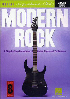 Modern Rock: Guitar Signature Licks / Stetina, Troy (Author) / Hal Leonard