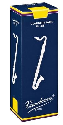 Vandoren Classic Clarinette basse Sib 3 Box 5 pc
