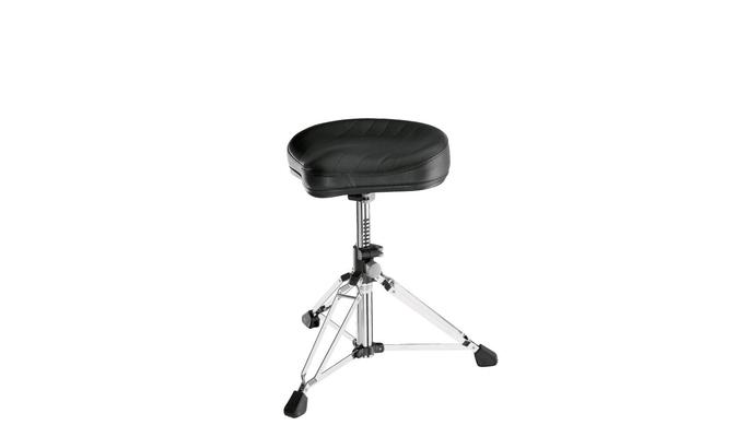 K & M 14000 Drummer's throne »Gomezz» – chrome