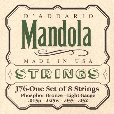 D'Addario D'Addario: Mandola Strings Phosphor Bronze