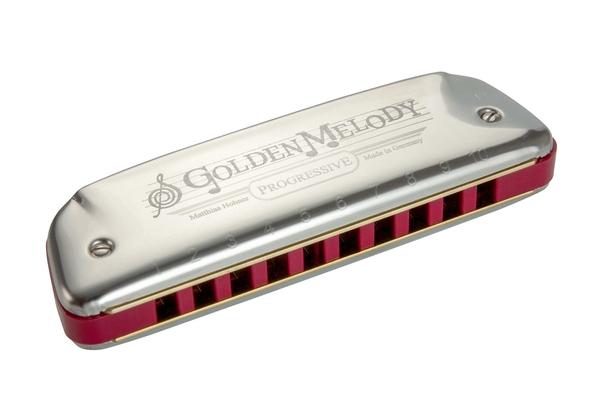 Hohner Progressive Line Golden Melody en C argenté