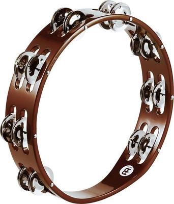 Meinl TA2AB Wood Hand Tambourine Double
