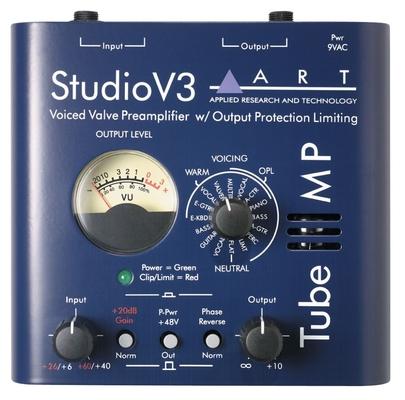 ART Tube MP – Studio V3, Tube Preamp, Variable Valve Voicing