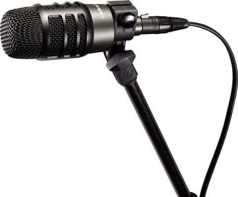 Audio Technica Pro ATM250 DE rugged dynamic microphone kick bass guitar