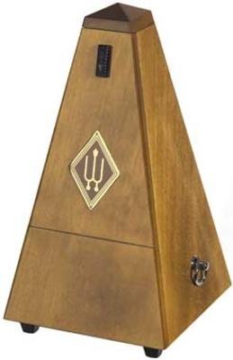 Wittner Pyramide bois noyer mat