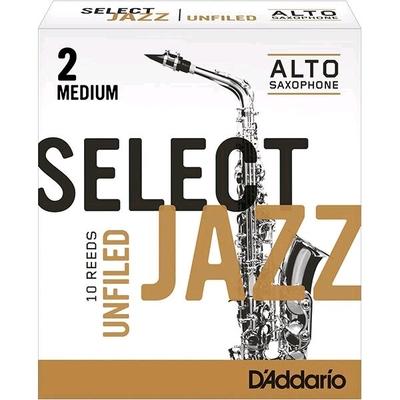 Rico Select Jazz Sax alto mib 2M Unifiled 10 Pièces