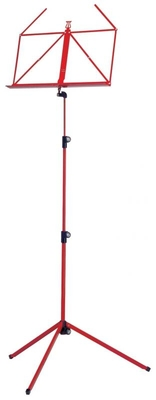 K & M 100/5 Music stand – Red