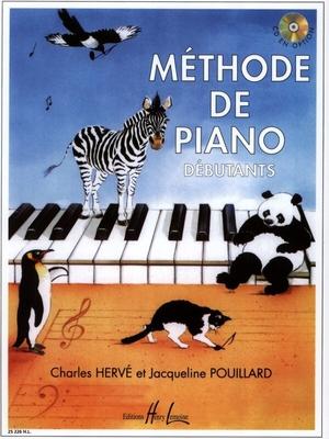 Méthode de Piano Débutants de Hervé et Pouillard / Charles Hervé et Jacqueline Pouillard / Henry Lemoine