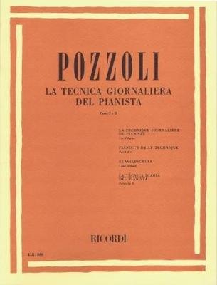 La tecnica giornaliera del pianista vol. 1 & 2 / Pozzoli Ettore / Ricordi