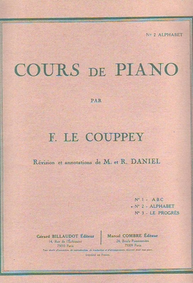Cours de piano vol. 2 Alphabet / Le Couppey F. / Billaudot