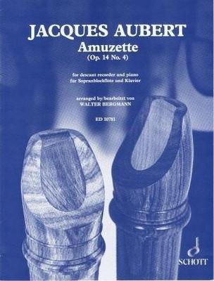Amuzette op. 14 no 4 / Jacques Aubert / Walter Bergmann / Schott