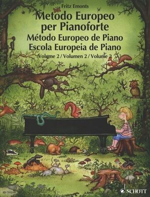 Méthode piano européenne vol. 2 / Emonts Fritz / Schott