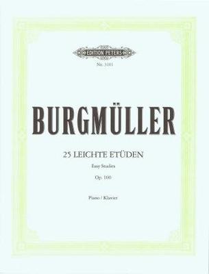25 études faciles op. 100 / Burgmüller Johann Friedrich / Peters