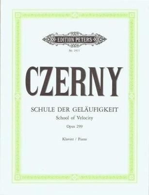 Ecole de la vélocité op. 299 / Czerny Carl / Peters