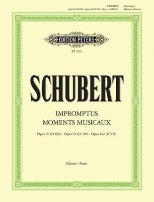 Impromptus Moments musicaux / Schubert Franz / Peters
