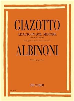 Adagio / Tomaso Albinoni Giazotto / Ricordi