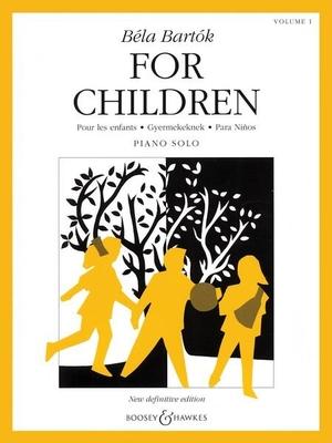 For children vol. 1 / Bartok Bela / Boosey & Hawkes