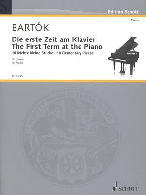 Erste Zeit Am Klavier / Bartok Bela / Schott