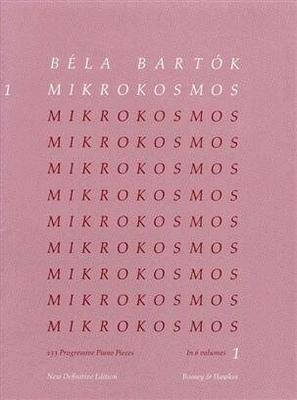 Mikrokosmos vol. 1 / Bartok Bela / Boosey and Hawkes