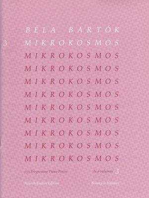 Mikrokosmos vol. 3 / Bartok Bela / Boosey and Hawkes