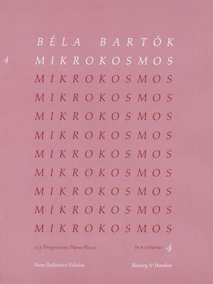 Mikrokosmos vol. 4 / Bartok Bela / Boosey and Hawkes