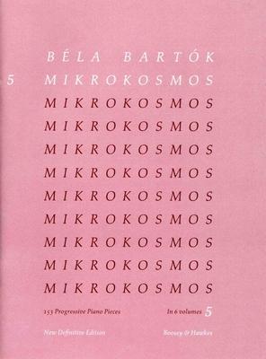 Mikrokosmos vol. 5 / Béla Bartk / Boosey and Hawkes