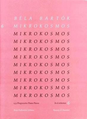 Mikrokosmos vol. 6 / Bartok Bela / Boosey and Hawkes