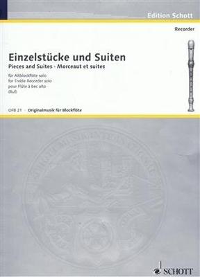 Originalmusik für Blockflöte (OFB) / Einzelstücke und Suiten Hugo Ruf / Hugo Ruf / Schott