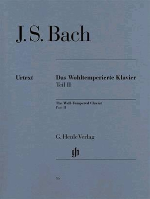 Le clavier bien tempéré vol. 2 The Well-Tempered Clavier Part II BWV 870-893 / Bach Jean Sébastien / Henle