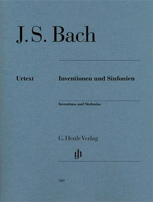 Inventions et sinfonies Inventions And Sinfonias revised edition HN589 / Bach Jean Sébastien / Henle