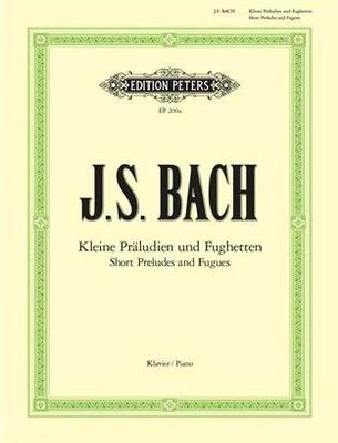 Petits préludes et fugues 24 Short Preludes And Fugues For Piano / Bach Jean Sébastien / Peters