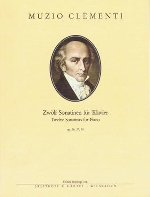 Sonatines op. 36 37 et 38 / Clementi Muzio / Breitkopf